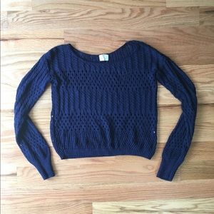 Pins and Needles | Urban Outfitters navy sweater